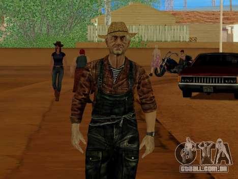 Agricultor ou alterada e completada para GTA San Andreas quinto tela