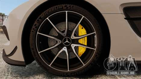 Mercedes-Benz SLS 2014 AMG NFS Stripes para GTA 4 vista de volta