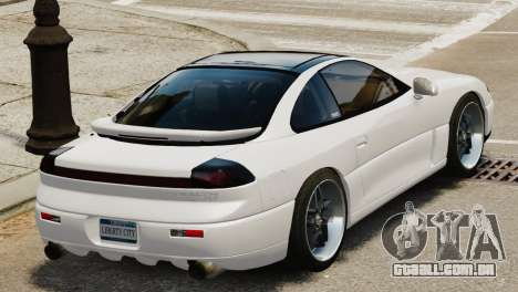 Dodge Stealth Turbo RT 1996 para GTA 4 vista direita