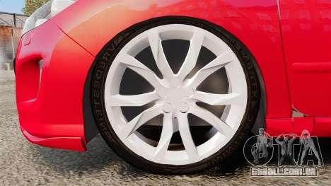 Peugeot 308 CC para GTA 4 vista de volta