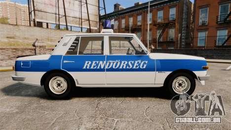 Wartburg 353w Deluxe Hungarian Police para GTA 4 esquerda vista