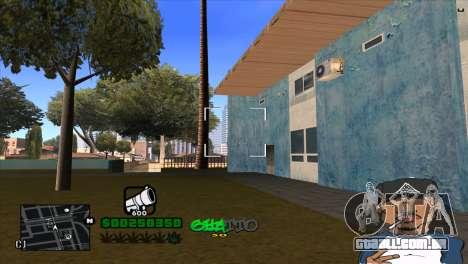 C-HUD By Markus para GTA San Andreas por diante tela