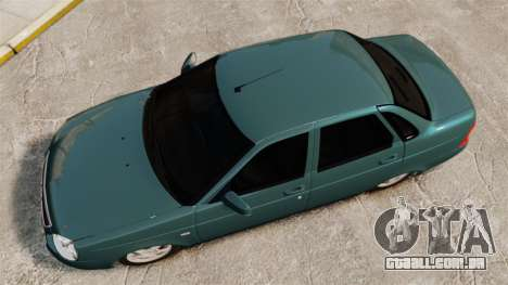 VAZ-2170 para GTA 4 vista direita