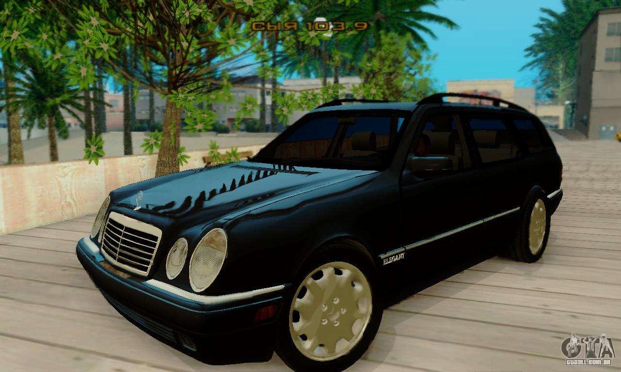 Mercedes Benz E320 Wagon Para GTA San Andreas Esquerda Vista