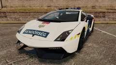 Lamborghini Gallardo Hungarian Police [ELS] para GTA 4