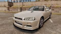 Nissan Skyline ER34 GT-R para GTA 4