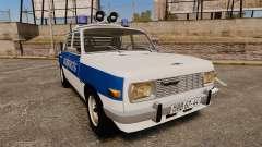 Wartburg 353w Deluxe Hungarian Police
