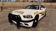 Dodge Charger 2013 Liberty University Police ELS para GTA 4