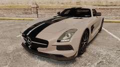 Mercedes-Benz SLS 2014 AMG NFS Stripes para GTA 4