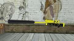 Yellow Sniper Rifle para GTA San Andreas