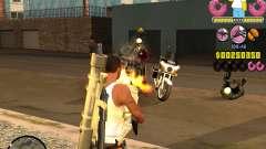 C-HUD Mr. Simpson para GTA San Andreas