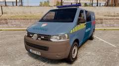 Volkswagen Transporter T5 Hungarian Police [ELS]