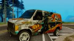 Ford E-150 GT-Shop para GTA San Andreas