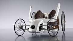Arranque telas Mercedes-Benz F-CELL Roadster