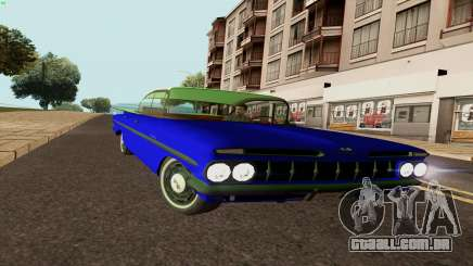 Chevrolet Bel Air 1959 para GTA San Andreas