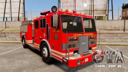 Fire Truck v1.4A LSFD [ELS] para GTA 4