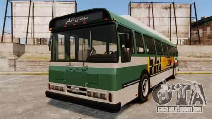 Iraniano pintura de ônibus para GTA 4