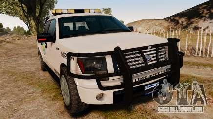 Ford F-150 2010 Liberty City Service Truck [ELS] para GTA 4