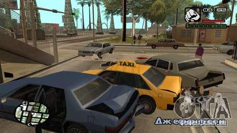 Nova fonte V.3 para GTA San Andreas para GTA San Andreas nono tela