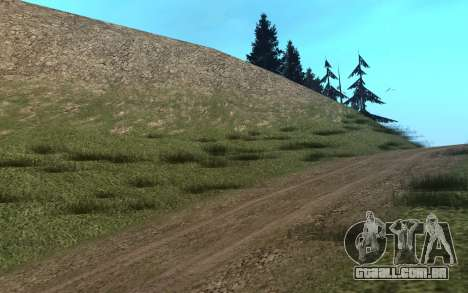 RoSA Project v1.3 Countryside para GTA San Andreas quinto tela