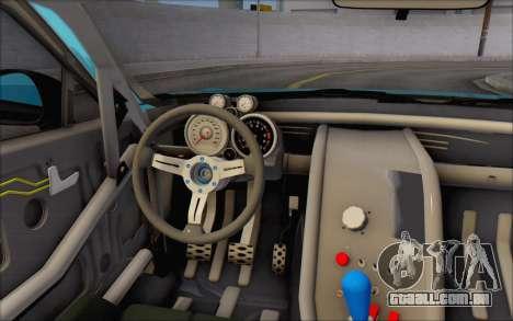 Scion FR-S 2013 Beam para GTA San Andreas vista inferior