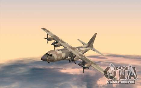C-130H Hercules para GTA San Andreas