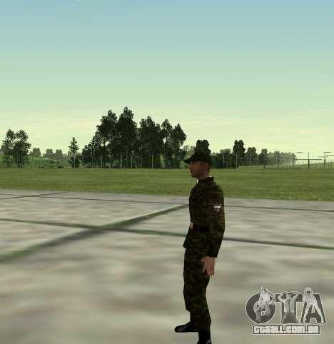 Caça do Exército russo v 2.0 para GTA San Andreas segunda tela