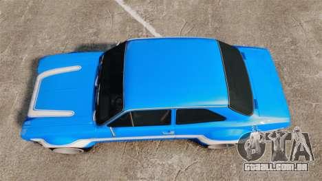 Ford Escort MK1 FnF Edition para GTA 4 vista direita