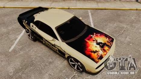 Dodge Challenger SRT8 2012 para GTA 4 motor