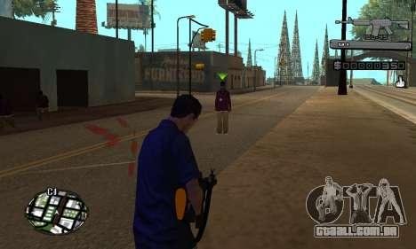 C-HUD Smoke para GTA San Andreas segunda tela