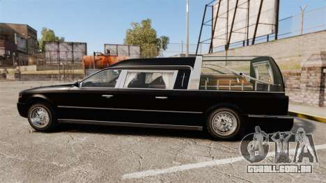 Albany Romero new wheels para GTA 4 esquerda vista