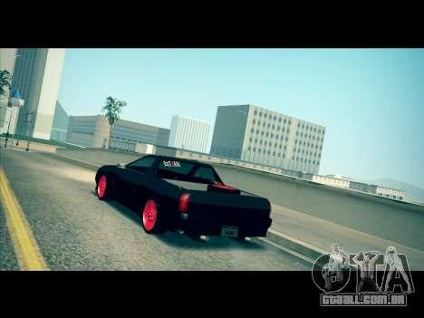 Elegy P1kachuxa Private para GTA San Andreas traseira esquerda vista