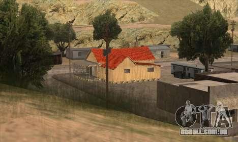 Nova casa do Sijia em El Quebrados v1.0 para GTA San Andreas segunda tela