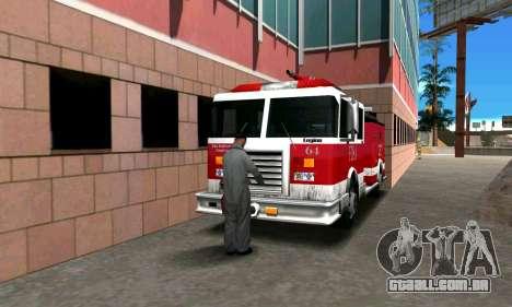 Fogo station em Los Santos para GTA San Andreas terceira tela