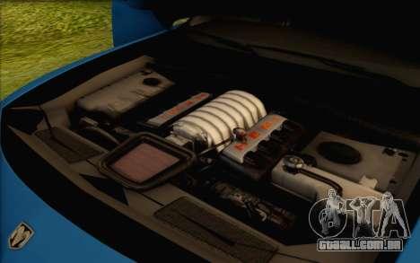 Dodge Charger SRT8 2006 para GTA San Andreas vista superior