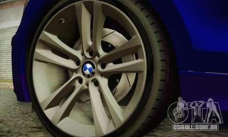 BMW 120i SE Carabinieri para GTA San Andreas vista direita