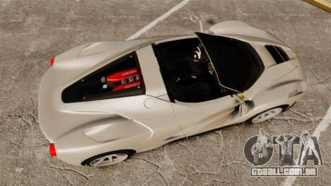 Ferrari LaFerrari Spider v2.0 para GTA 4 vista direita