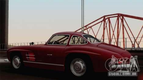 Mercedes-Benz 300SL 1955 para GTA San Andreas esquerda vista
