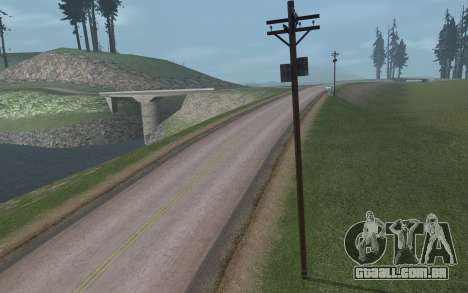 RoSA Project v1.3 Countryside para GTA San Andreas twelth tela