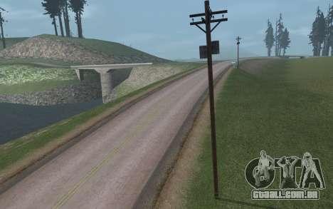 RoSA Project v1.3 Countryside para GTA San Andreas twelth tela