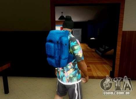 Mochila de o Estado de degradação para GTA San Andreas segunda tela