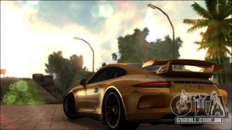 BRC ENB 2.0 para GTA San Andreas por diante tela