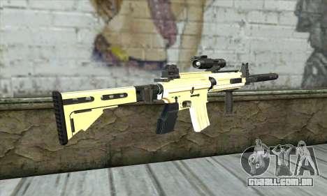 Golden M4A1 para GTA San Andreas segunda tela