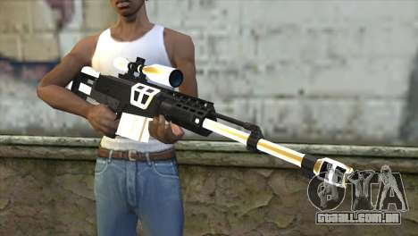 Golden Sniper Rifle para GTA San Andreas terceira tela