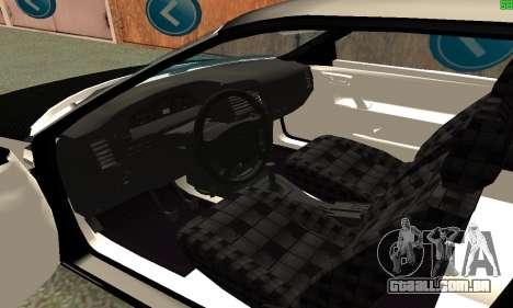 VAZ-21123 TURBO-Cobra para GTA San Andreas traseira esquerda vista