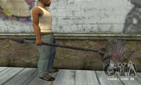 O machado de Skyrim para GTA San Andreas terceira tela