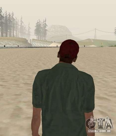 New Zero para GTA San Andreas por diante tela