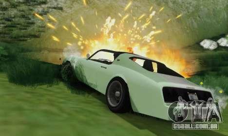 Imponte Phoenix из GTA 5 para GTA San Andreas vista superior
