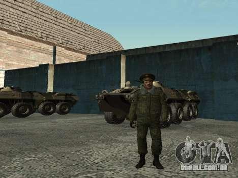 O tenente-Coronel das tropas Internas para GTA San Andreas terceira tela