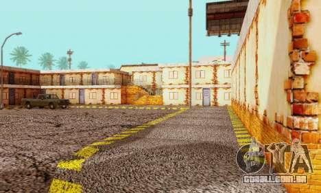 A nova textura pizzarias e comodidades Iludem para GTA San Andreas quinto tela